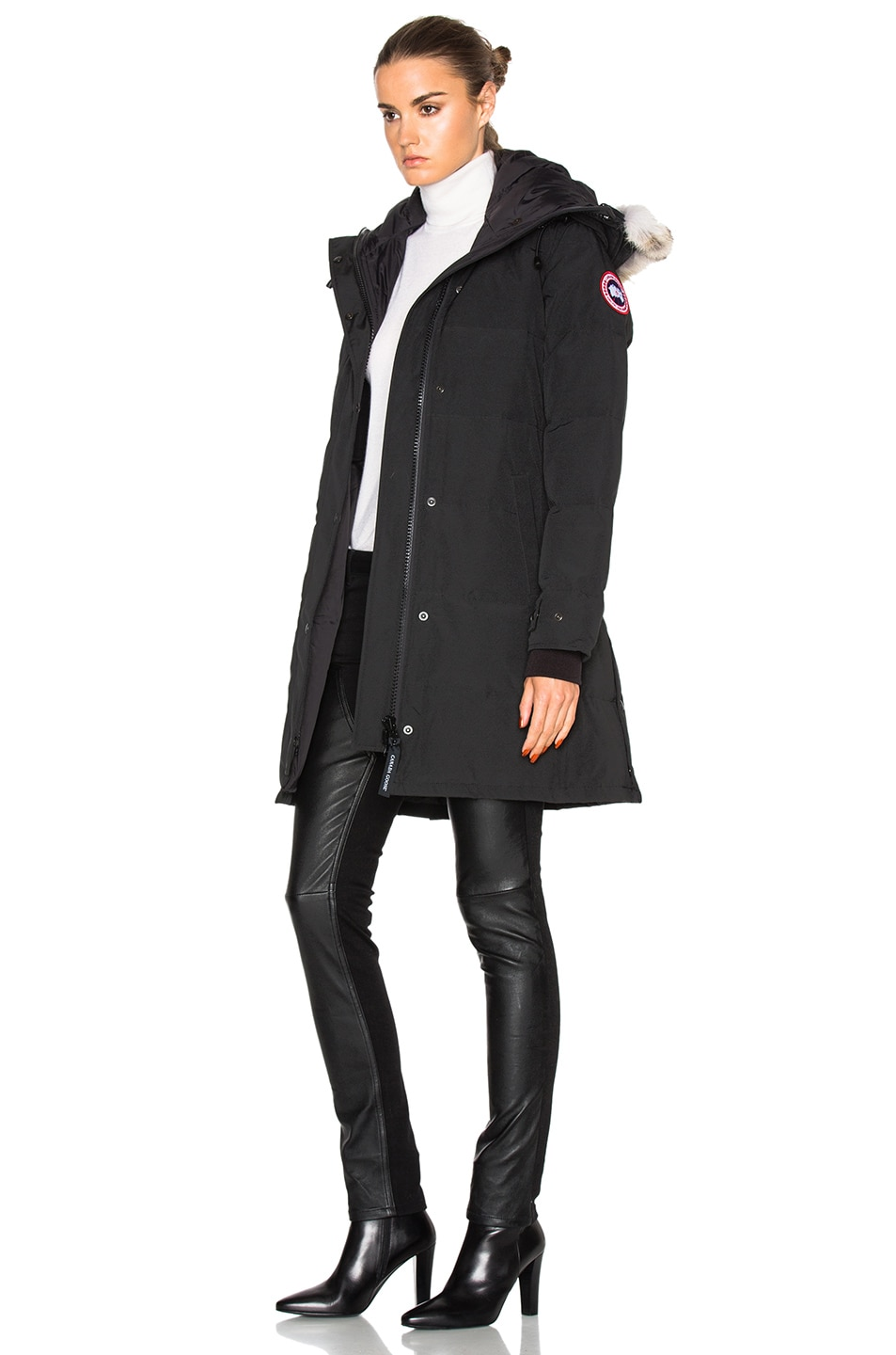 Image 3 of Canada Goose Shelburne Parka in Black
