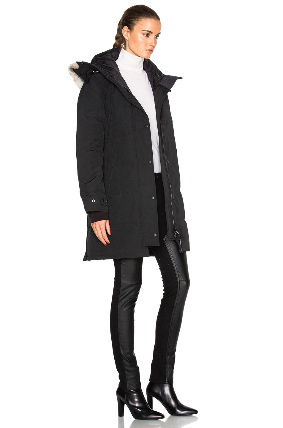 Image 4 of Canada Goose Shelburne Parka in Black