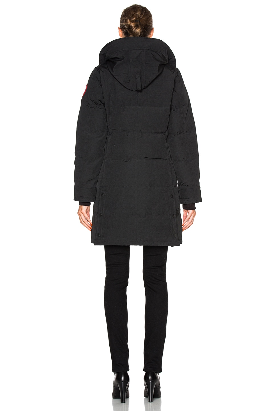 Image 5 of Canada Goose Shelburne Parka in Black