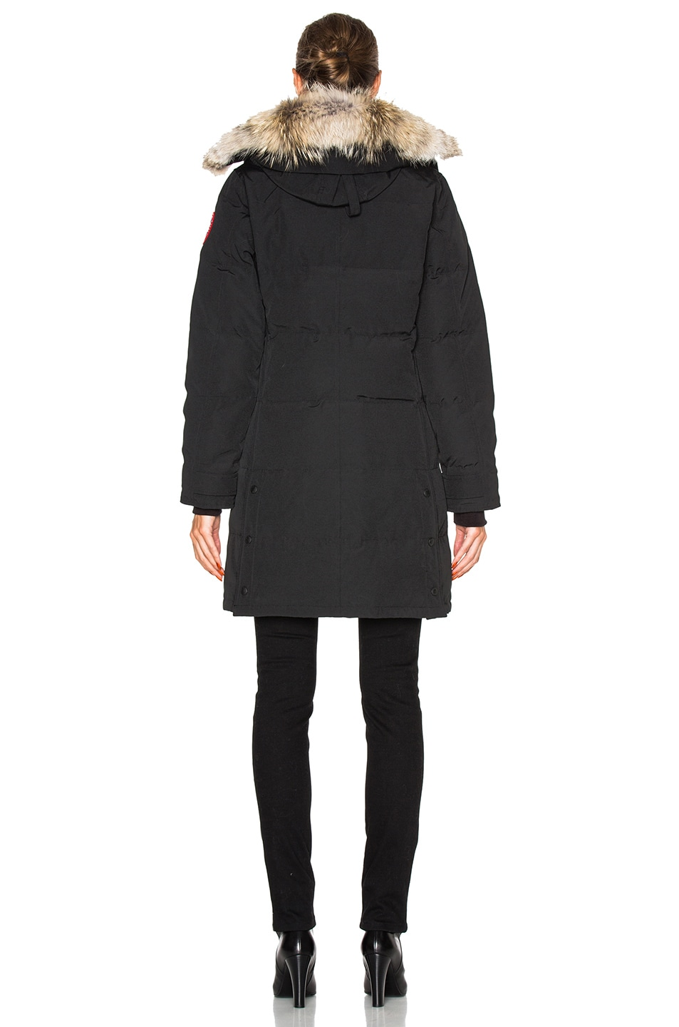 Image 6 of Canada Goose Shelburne Parka in Black