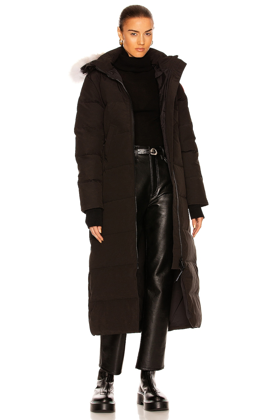 Image 1 of Canada Goose Mystique Parka in Black