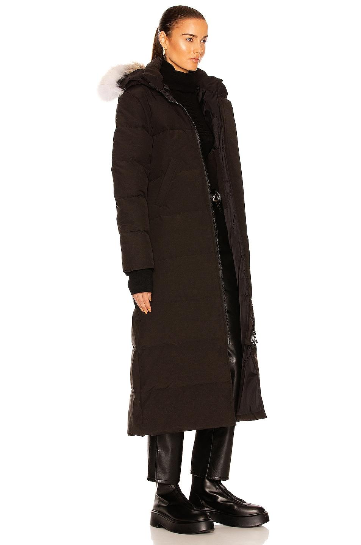 Image 3 of Canada Goose Mystique Parka in Black