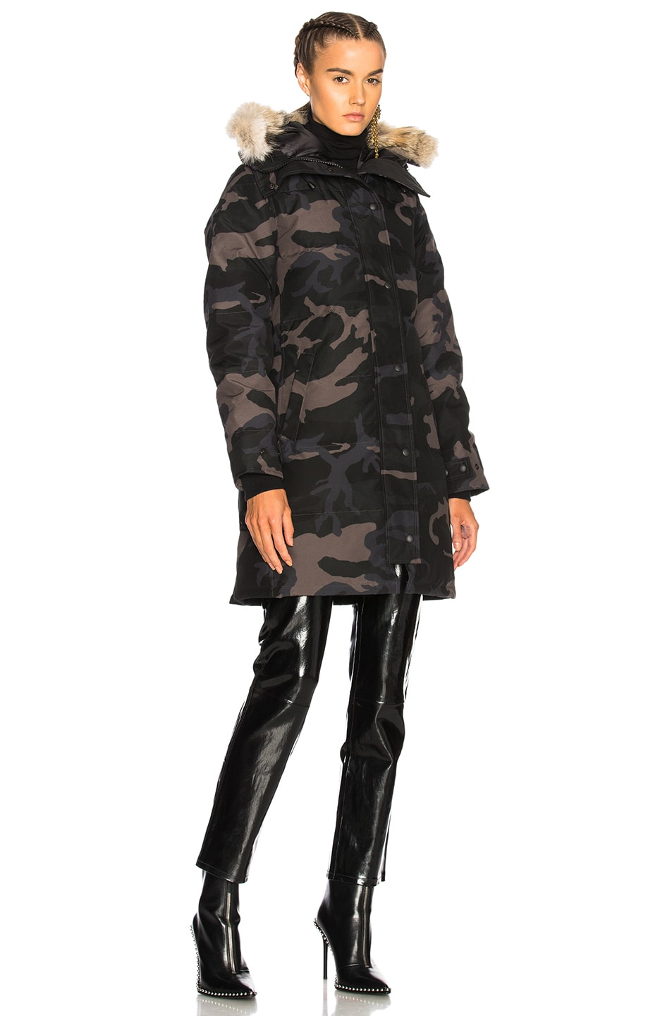 Image 2 of Canada Goose Shelburne Parka in Black Camo