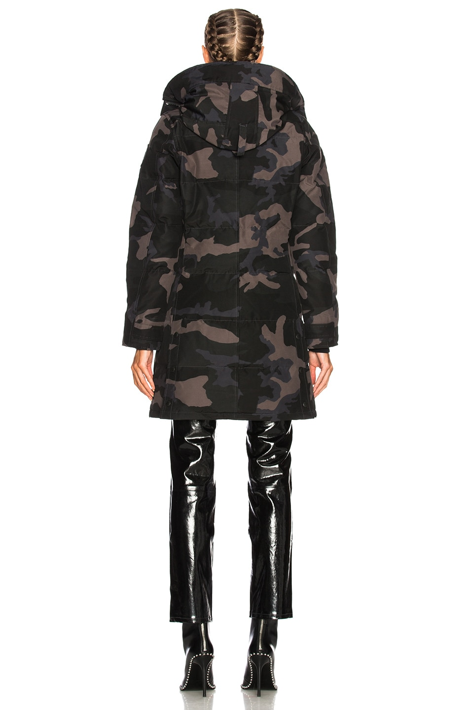 Image 5 of Canada Goose Shelburne Parka in Black Camo