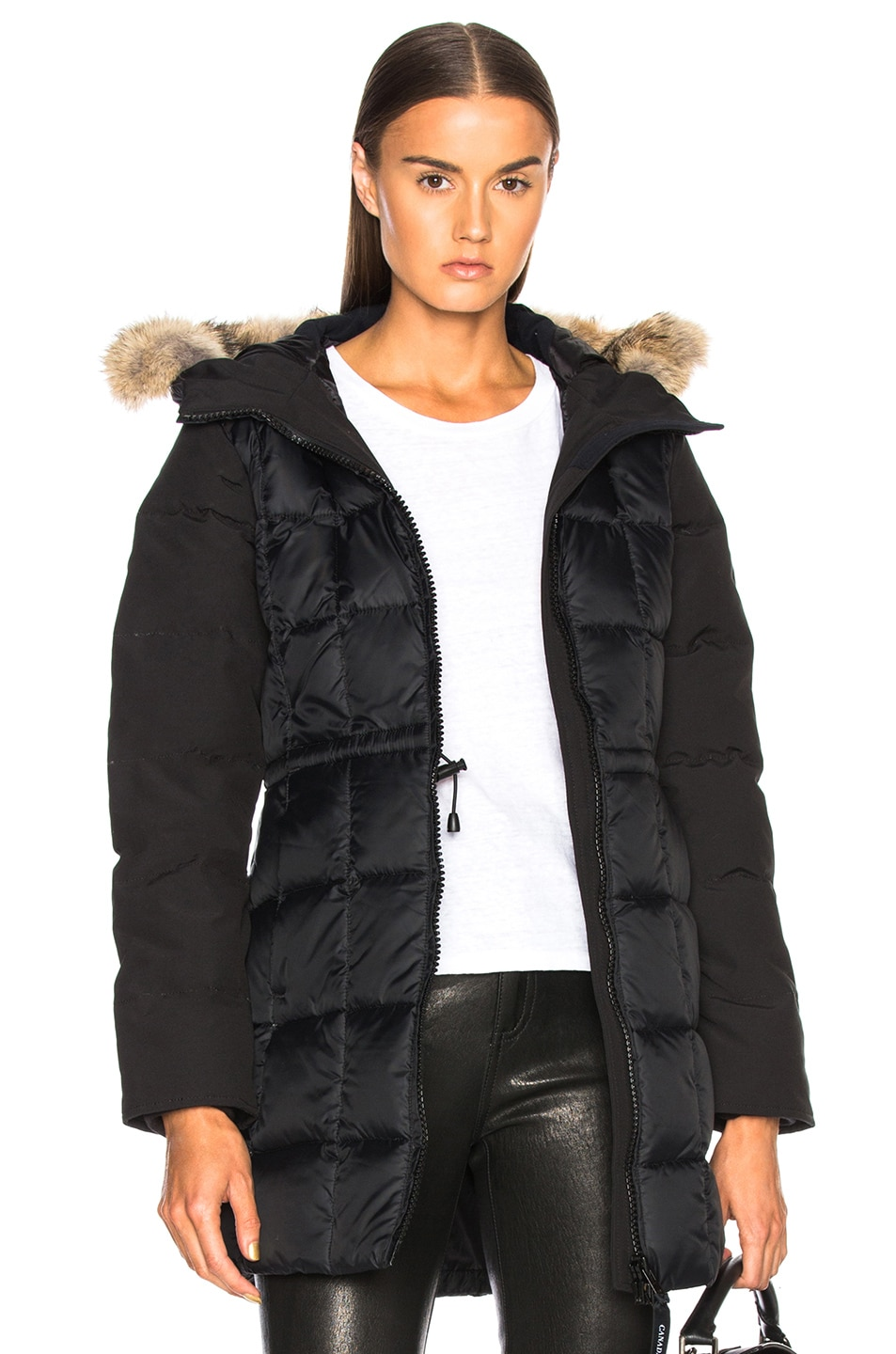 Image 1 of Canada Goose Beechwood Parka With Coyote Fur in Black