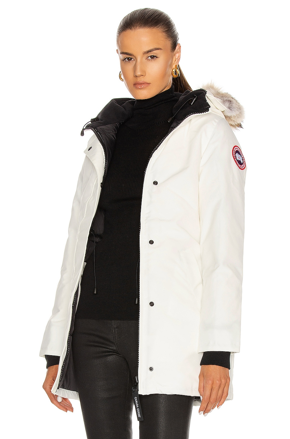 Image 1 of Canada Goose Victoria Parka in Northstar White