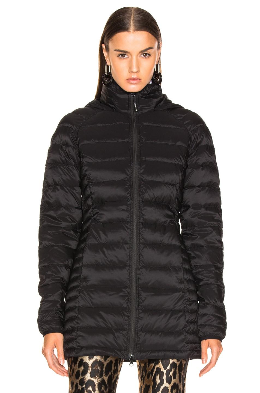 Image 2 of Canada Goose Brookvale Hooded Coat in Black