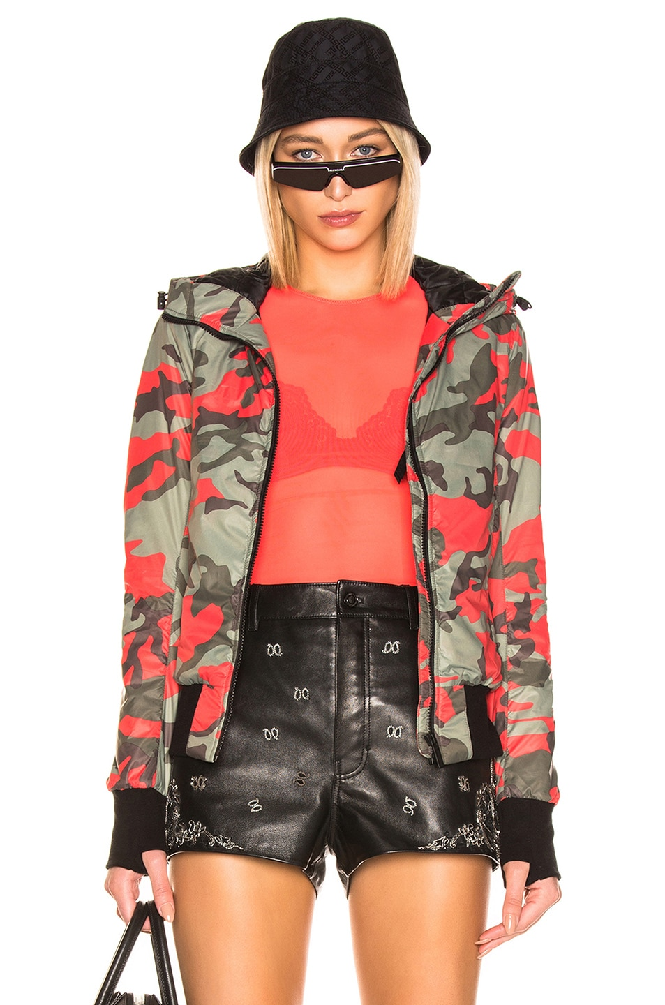 Image 1 of Canada Goose Dore Hoody in Fire Bud Camo