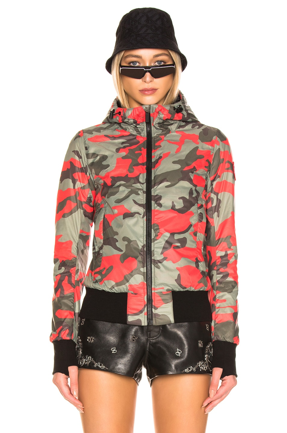 Image 2 of Canada Goose Dore Hoody in Fire Bud Camo