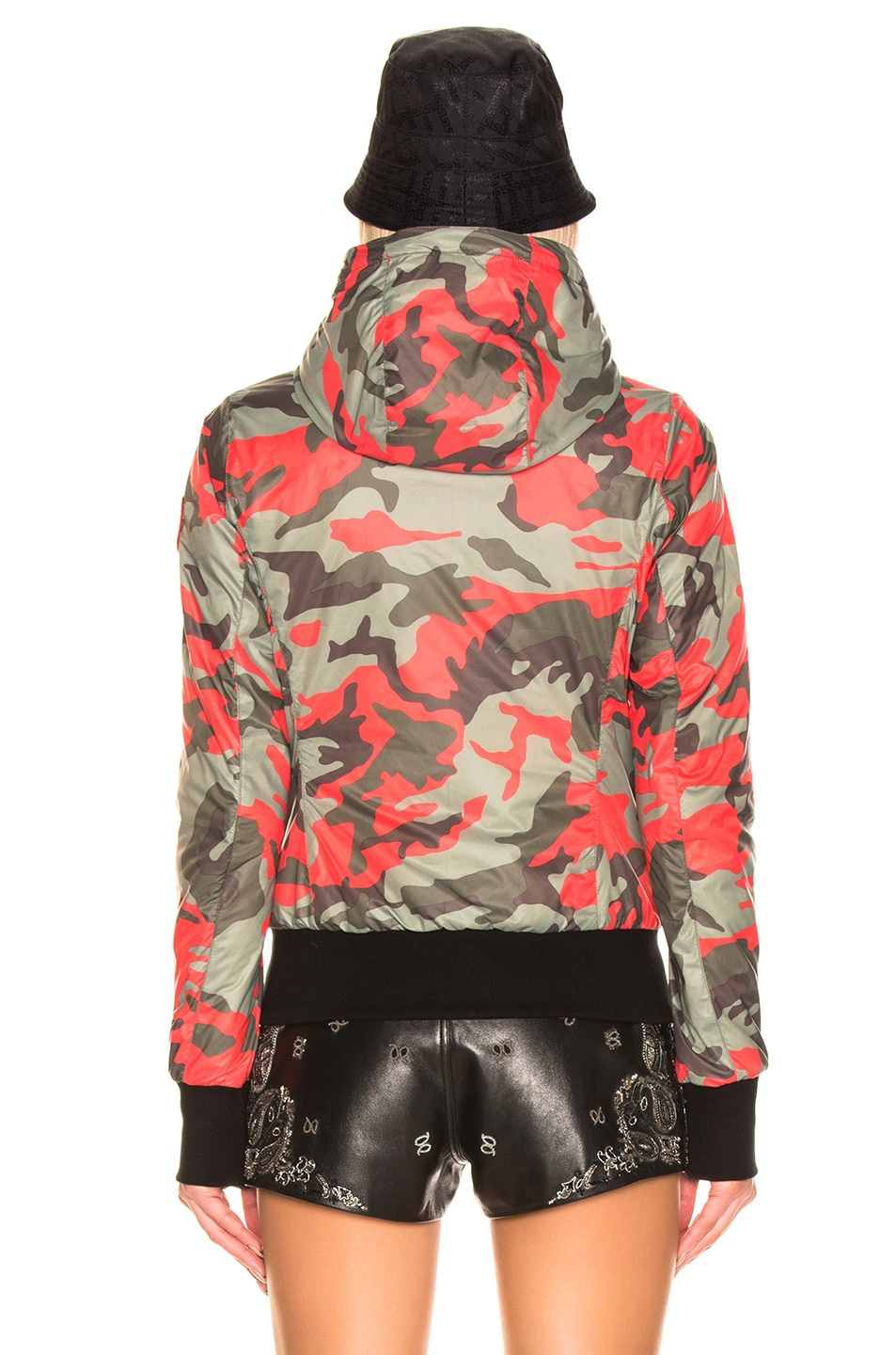 Image 5 of Canada Goose Dore Hoody in Fire Bud Camo