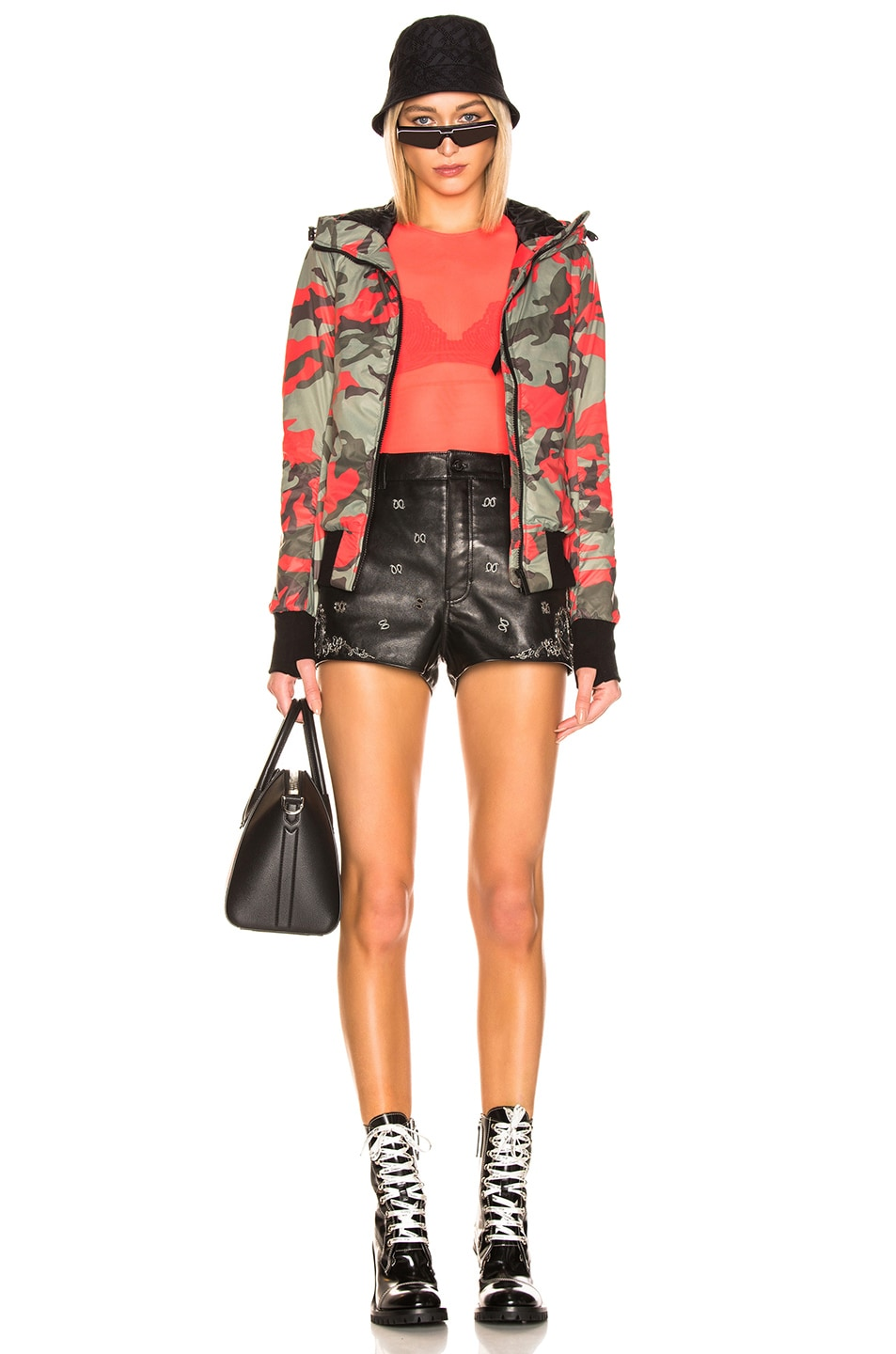 Image 6 of Canada Goose Dore Hoody in Fire Bud Camo