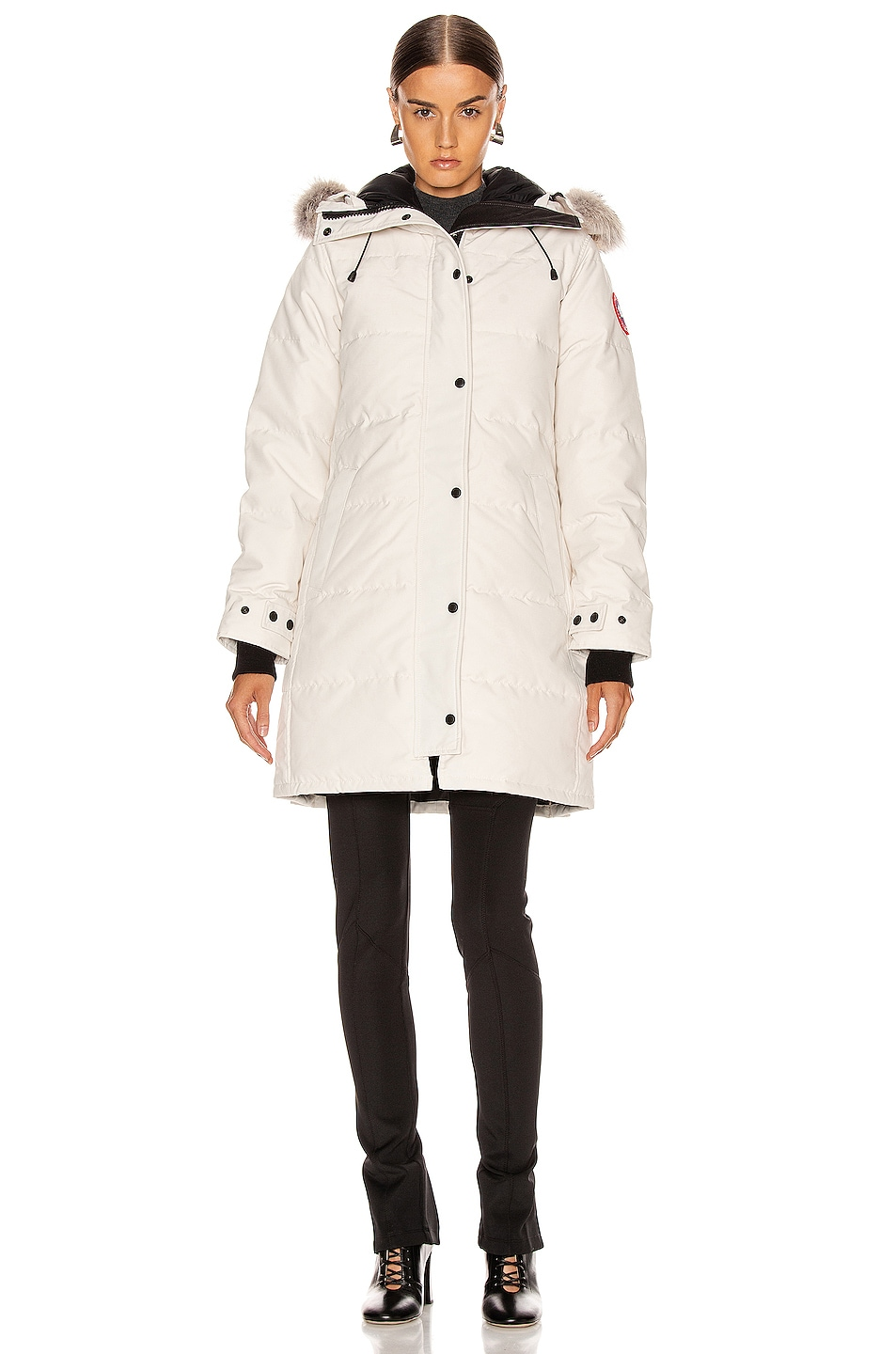 Image 2 of Canada Goose Shelburne Parka in Early Light