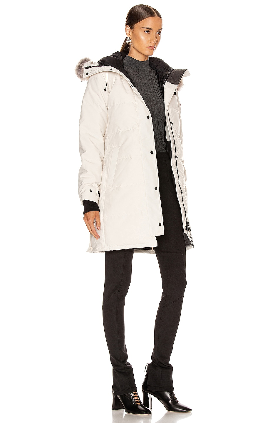 Image 3 of Canada Goose Shelburne Parka in Early Light