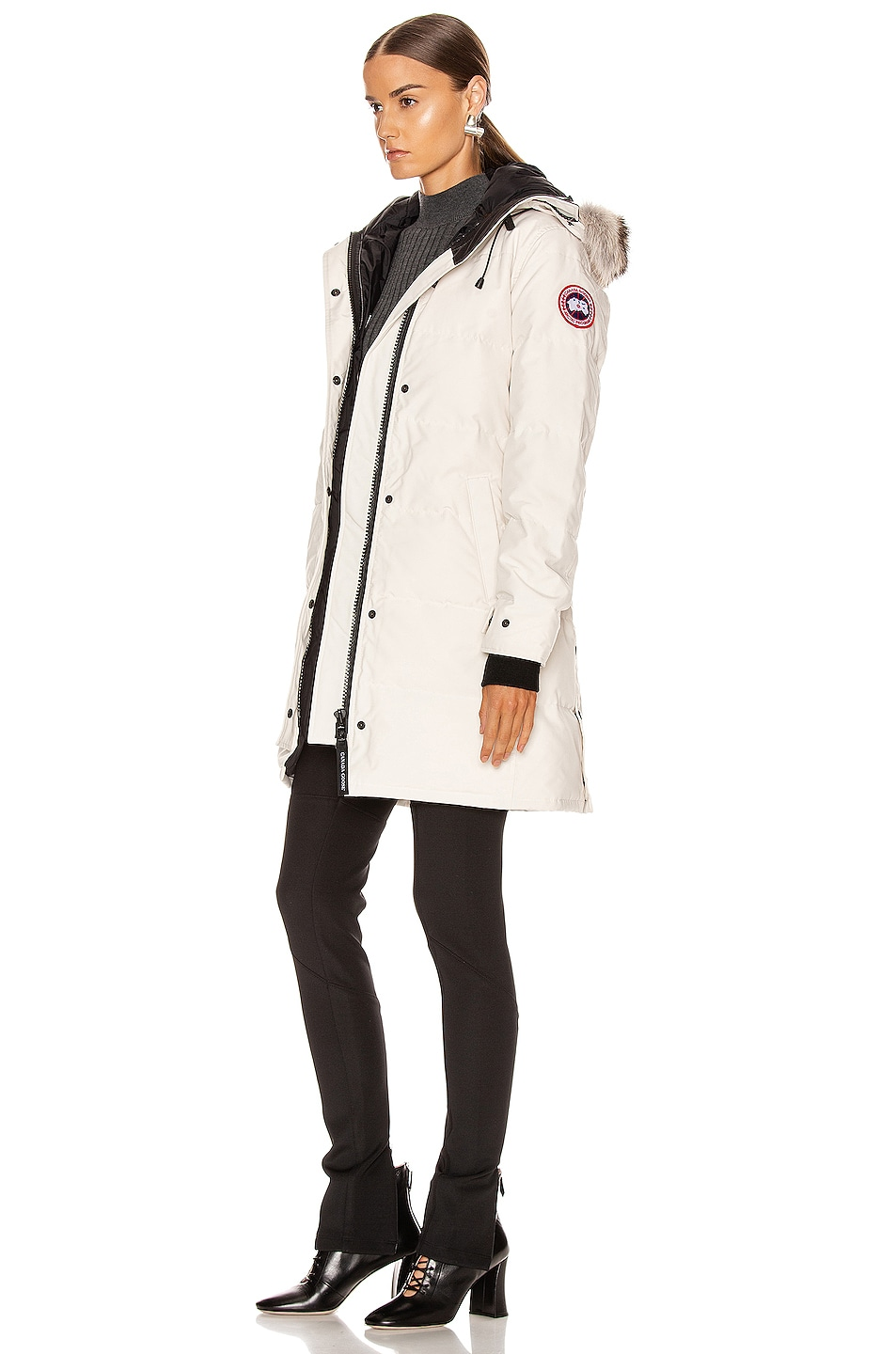 Image 4 of Canada Goose Shelburne Parka in Early Light