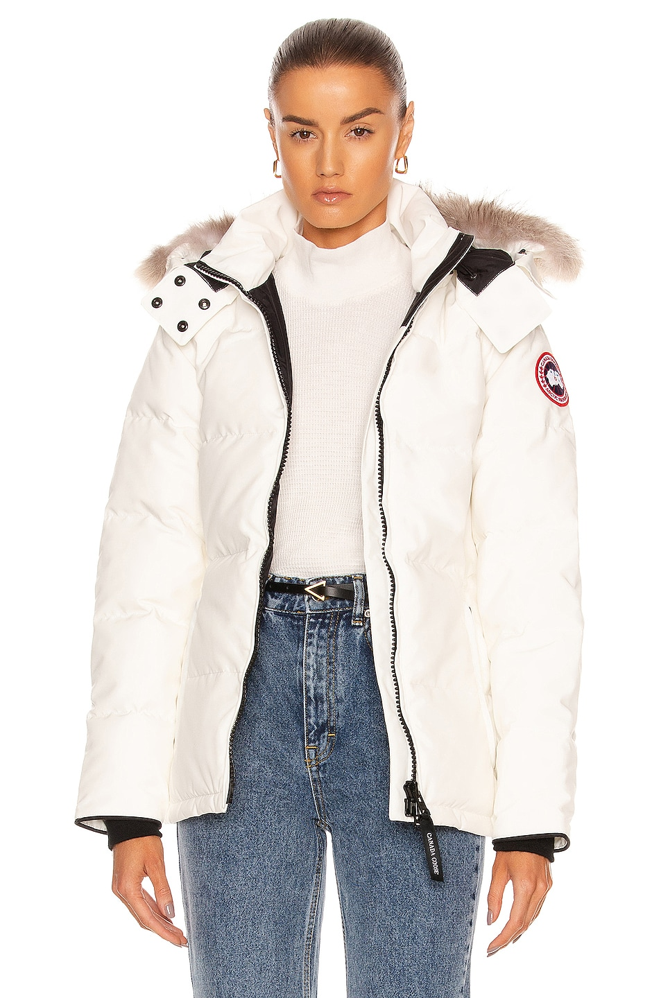 Image 1 of Canada Goose Chelsea Parka in Northstar White
