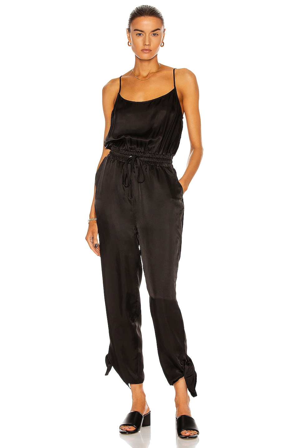 Image 1 of Cinq a Sept Bailey Jumpsuit in Black