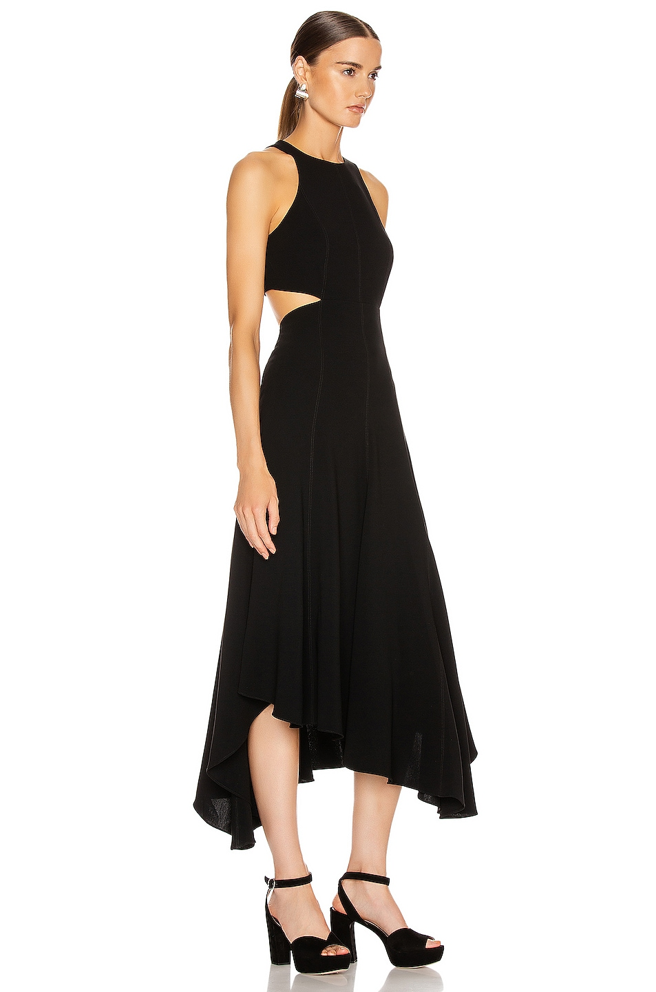 Image 2 of Cinq a Sept Belladonna Dress in Black