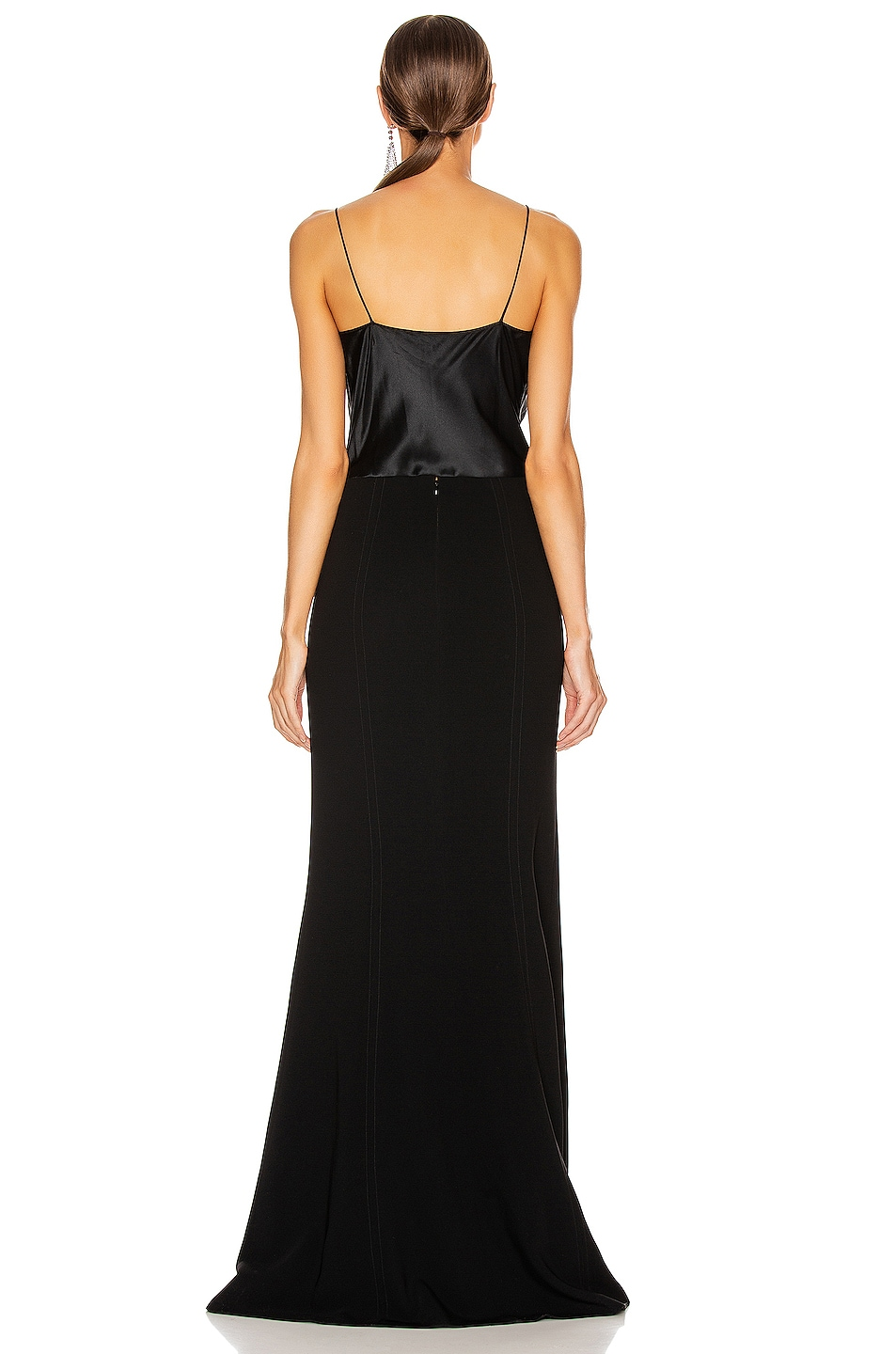 Image 3 of Cinq a Sept Ana Gown in Black