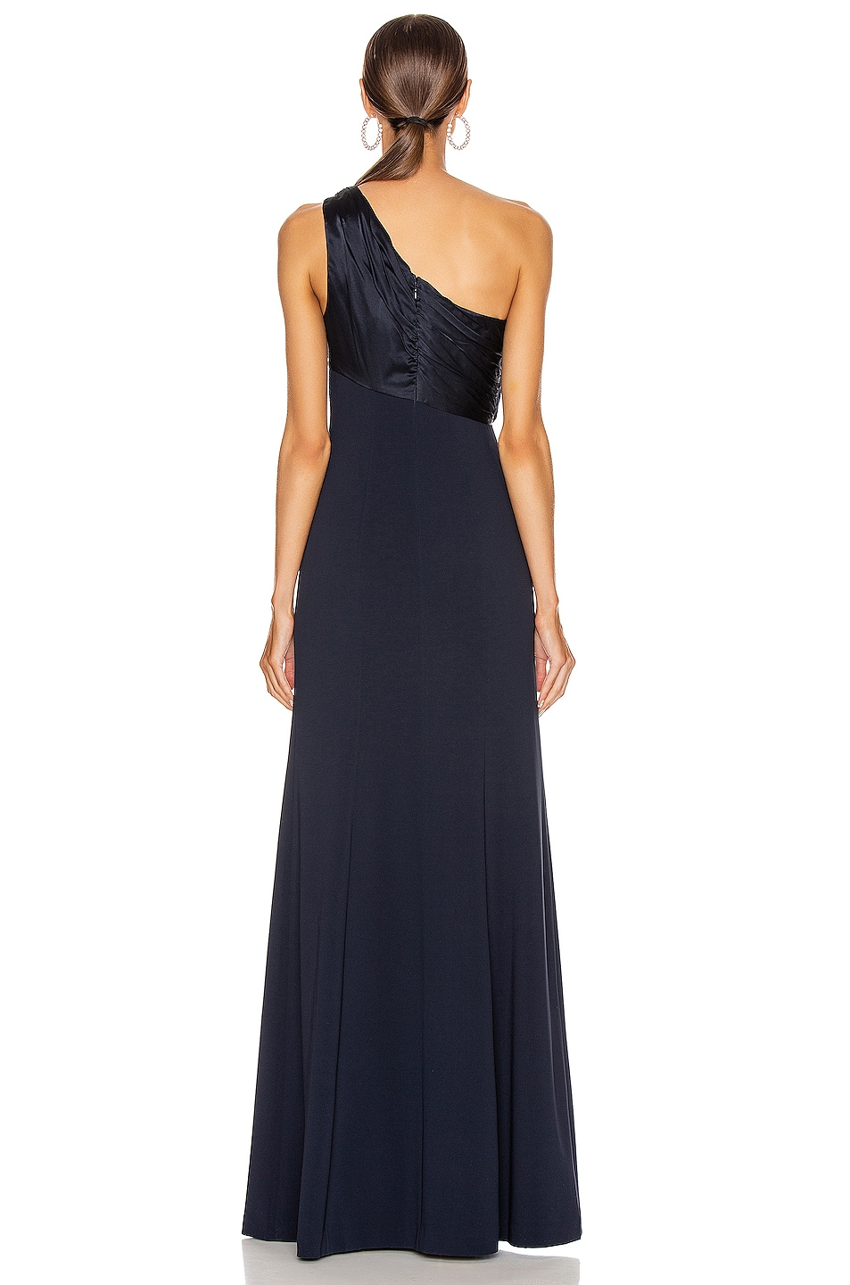 Image 4 of Cinq a Sept Faye Gown in Navy