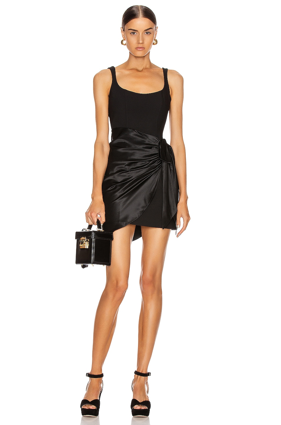 Image 1 of Cinq a Sept Waverly Dress in Black