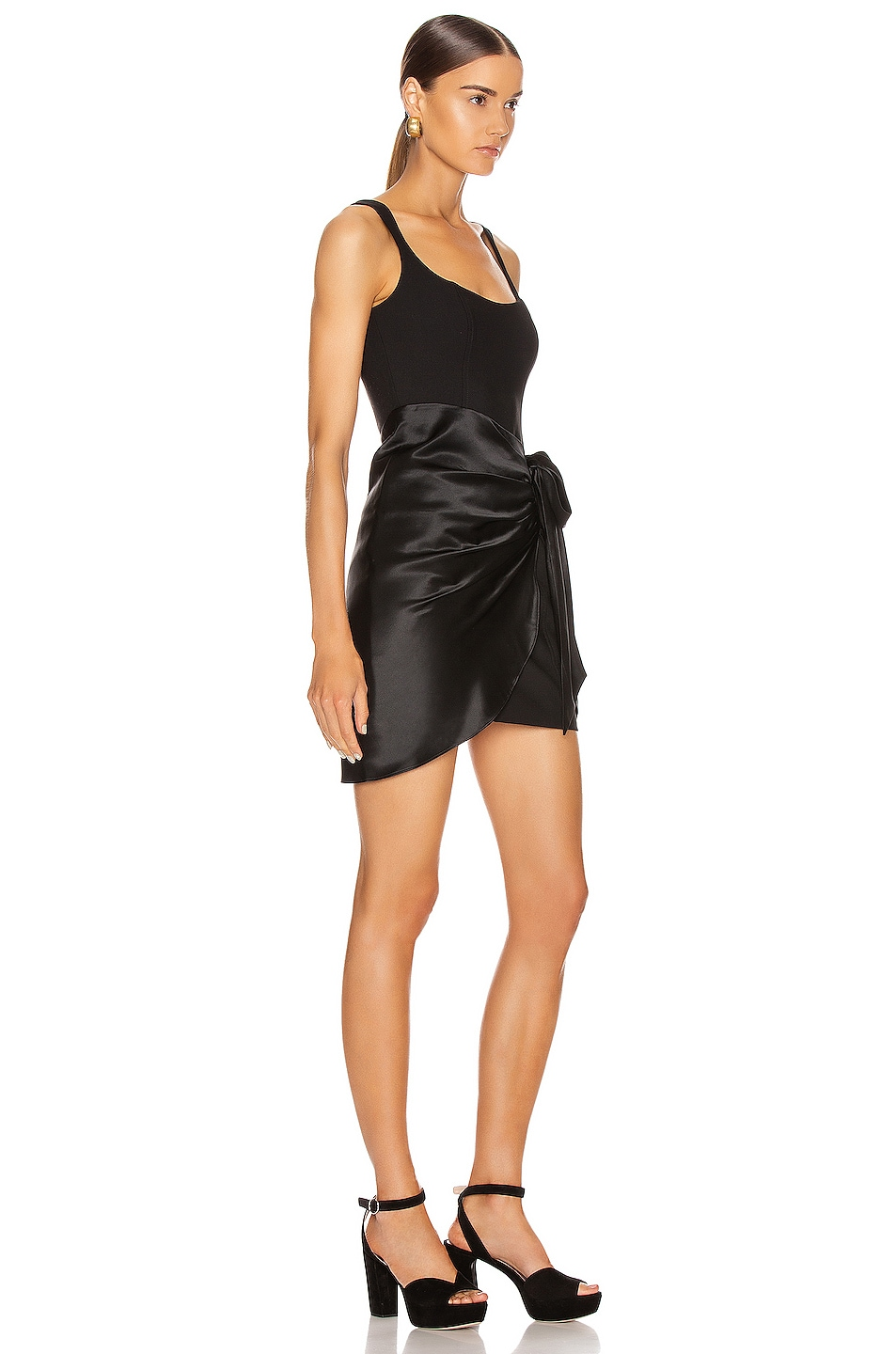 Image 2 of Cinq a Sept Waverly Dress in Black
