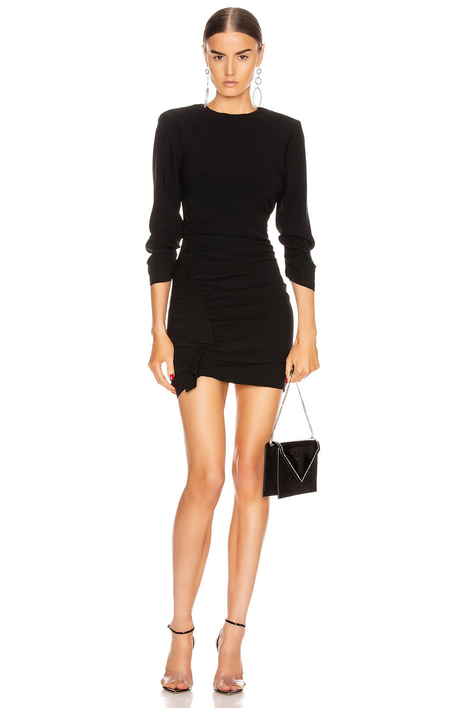 Image 1 of Cinq a Sept Crepe Natalia Dress in Black