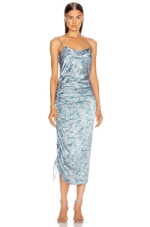 Image 1 of Cinq a Sept Sapir Dress in Sky Dive