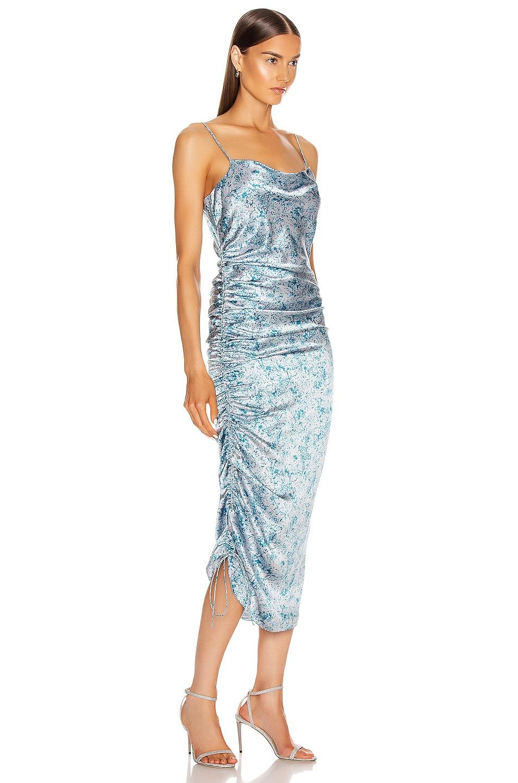 Image 2 of Cinq a Sept Sapir Dress in Sky Dive