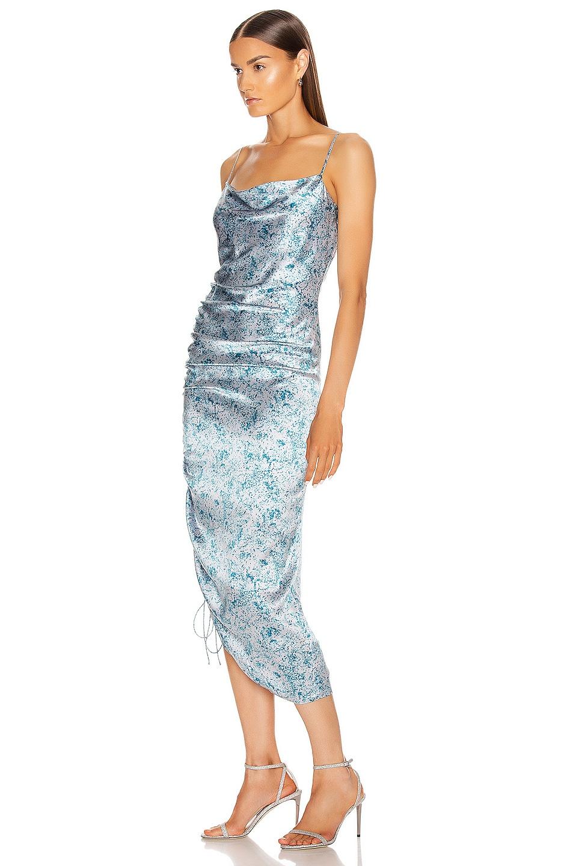 Image 3 of Cinq a Sept Sapir Dress in Sky Dive