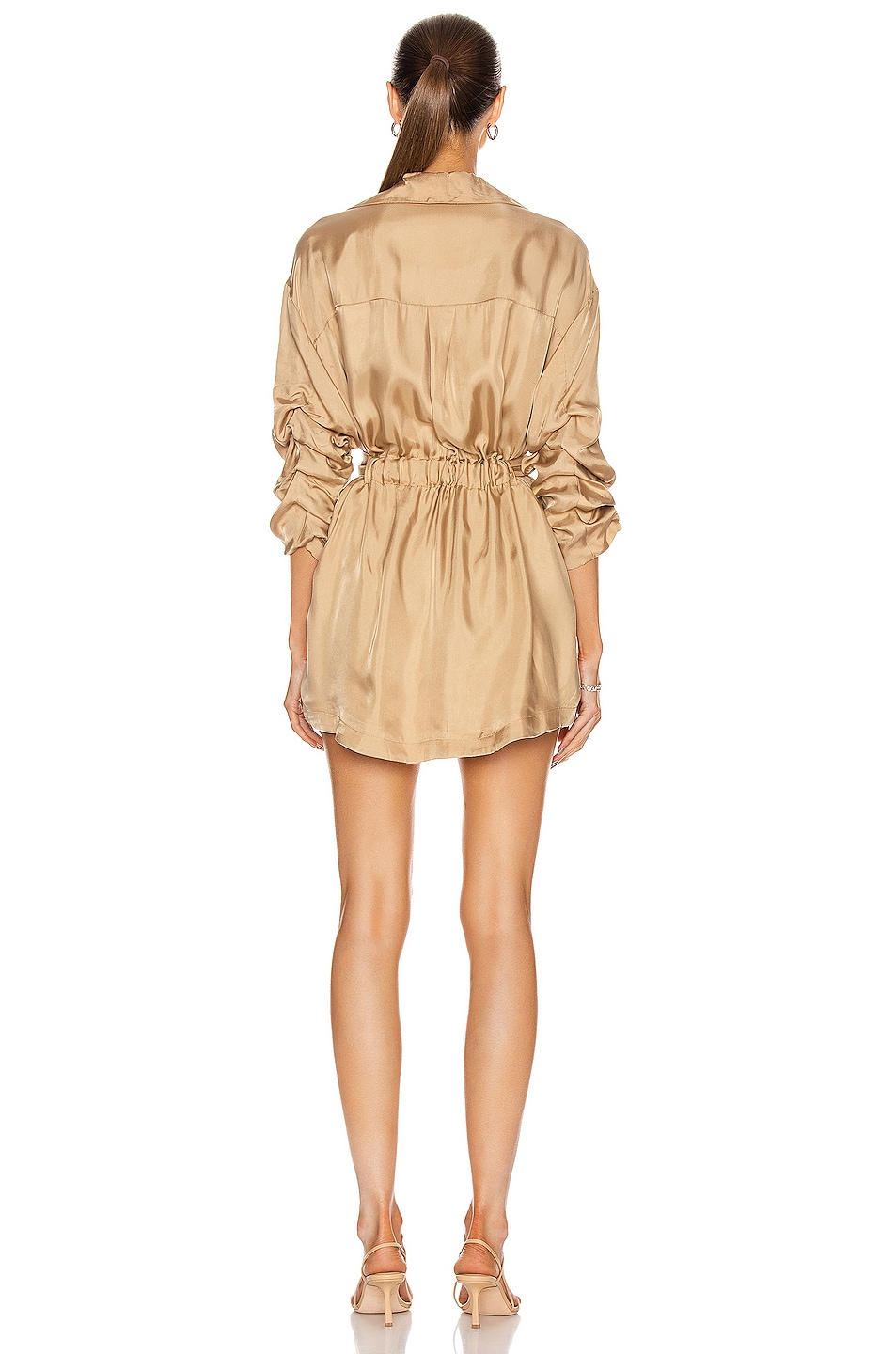 Image 3 of Cinq a Sept Kiera Dress in Gold