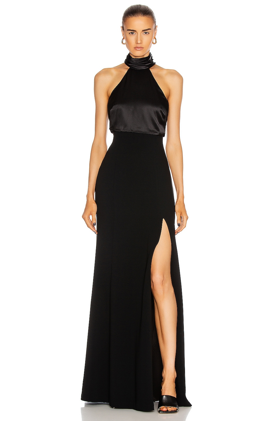 Image 1 of Cinq a Sept Alexandra Gown in Black
