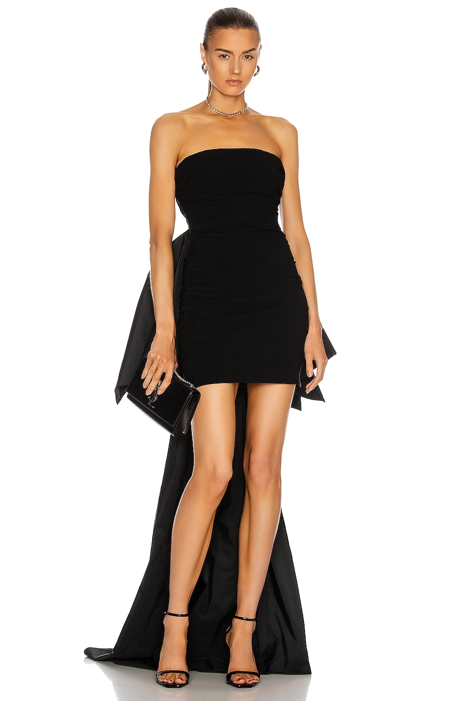 Image 1 of Cinq a Sept Zoe Gown in Black