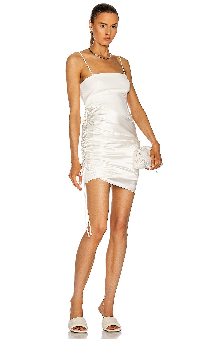 Image 1 of Cinq a Sept Juliette Dress in Ivory