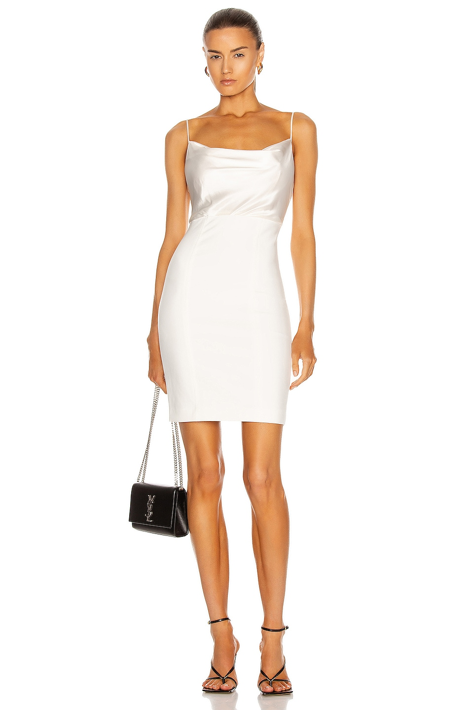 Image 1 of Cinq a Sept Karina Dress in Ivory