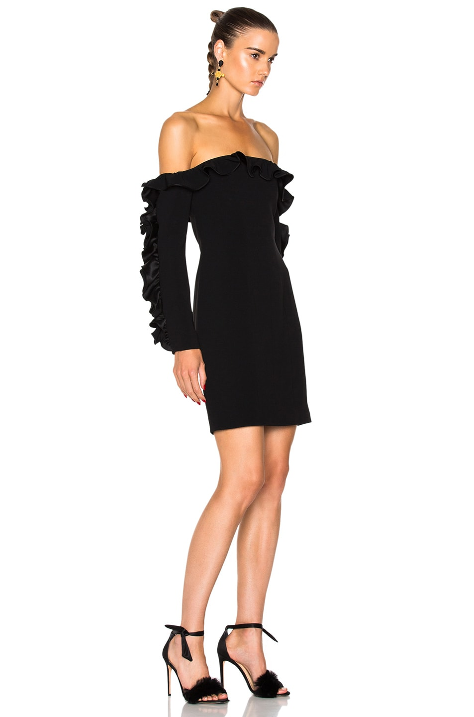Image 2 of Cinq a Sept Rosemarie Dress in Black