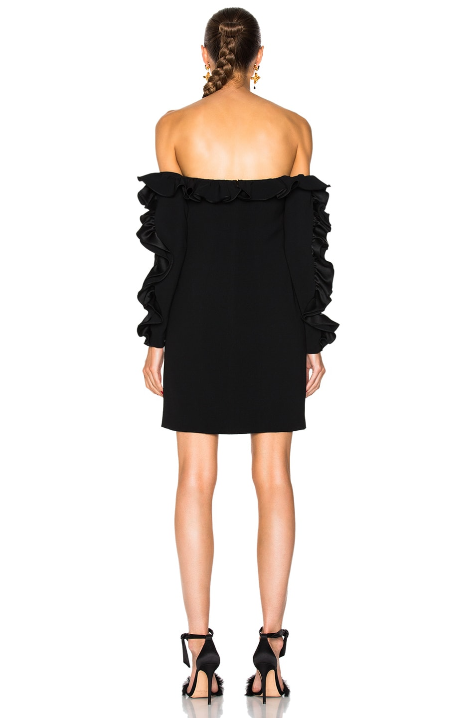 Image 3 of Cinq a Sept Rosemarie Dress in Black