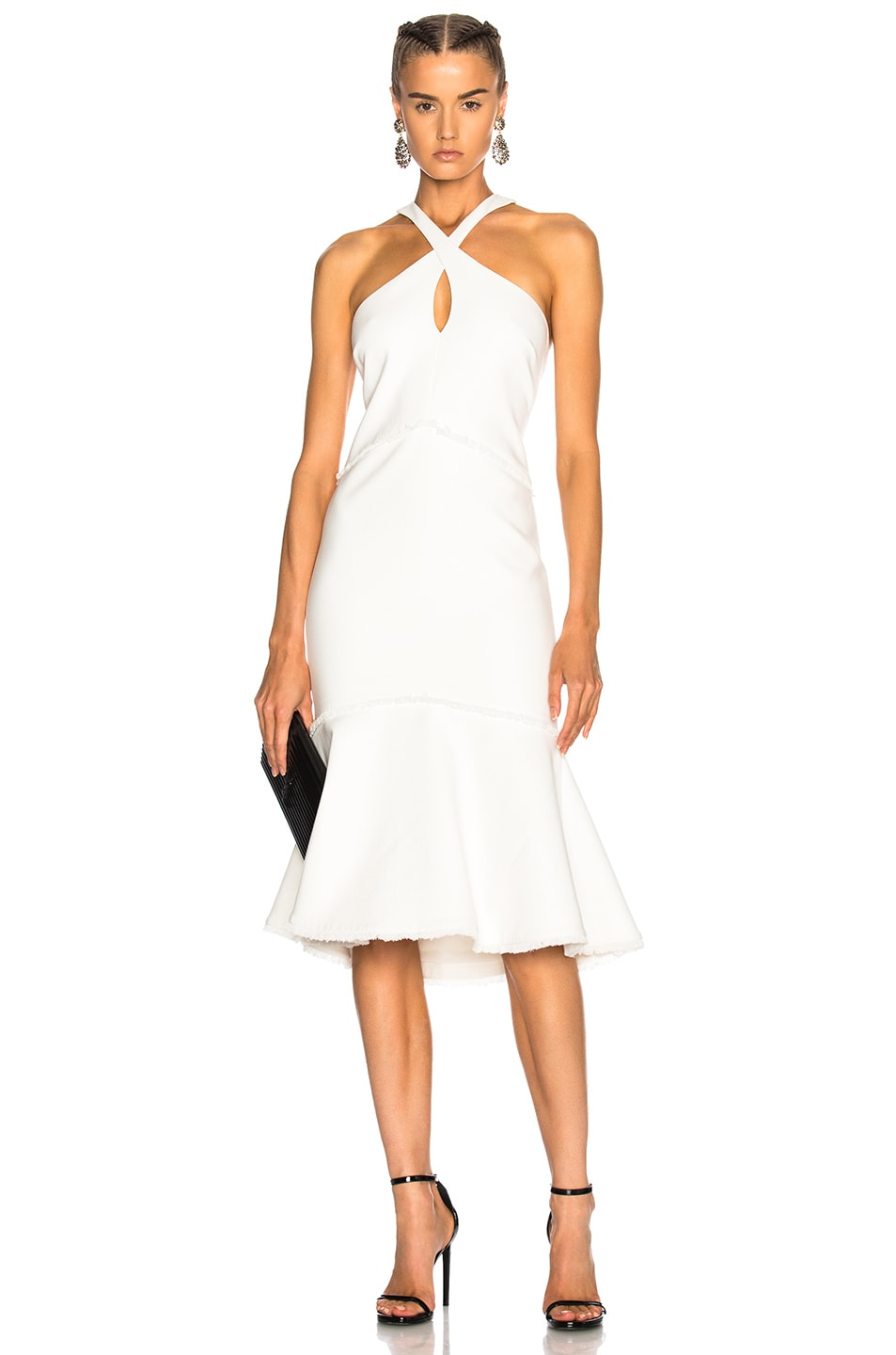 Image 1 of Cinq a Sept Dante Dress in Ivory