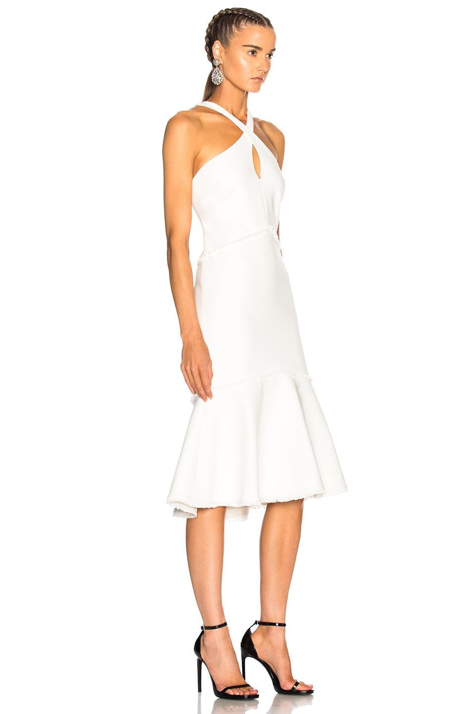 Image 2 of Cinq a Sept Dante Dress in Ivory