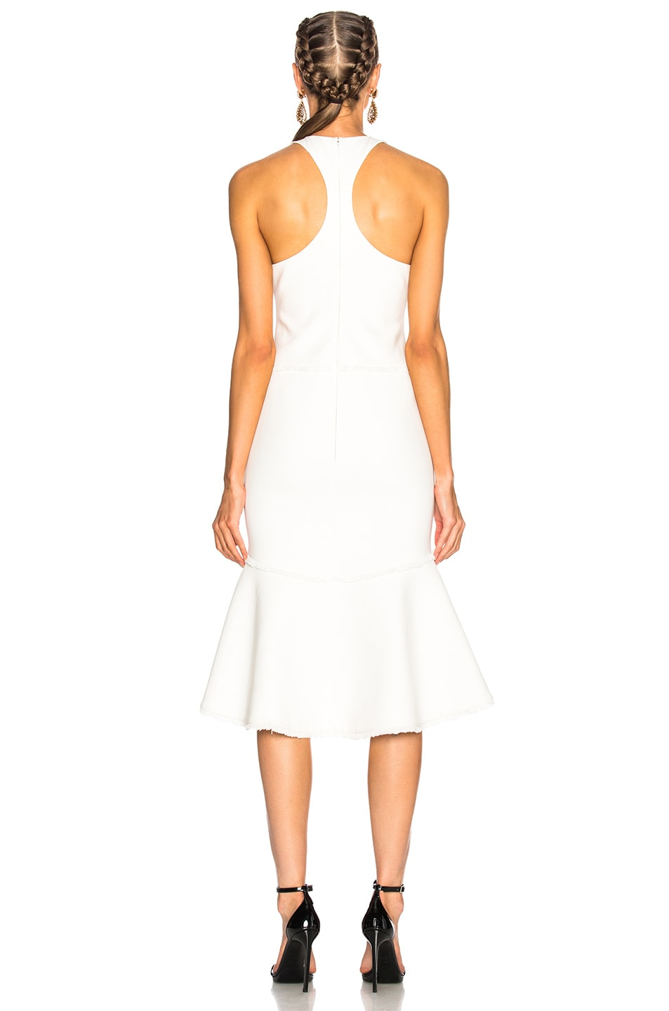 Image 3 of Cinq a Sept Dante Dress in Ivory