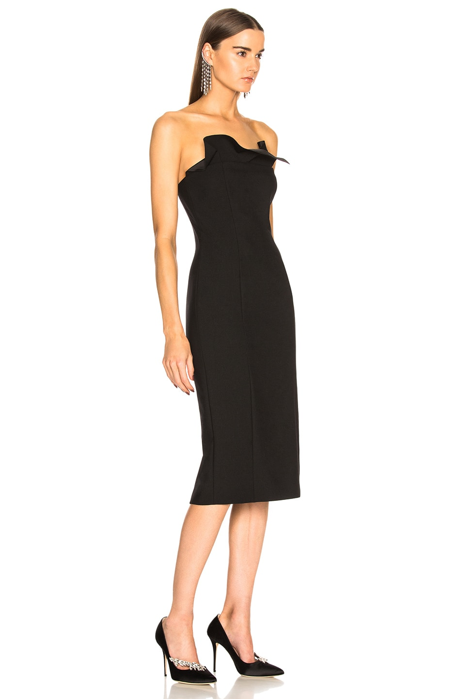 Cinq A Sept Jolie Marceau Dress In Black Fwrd