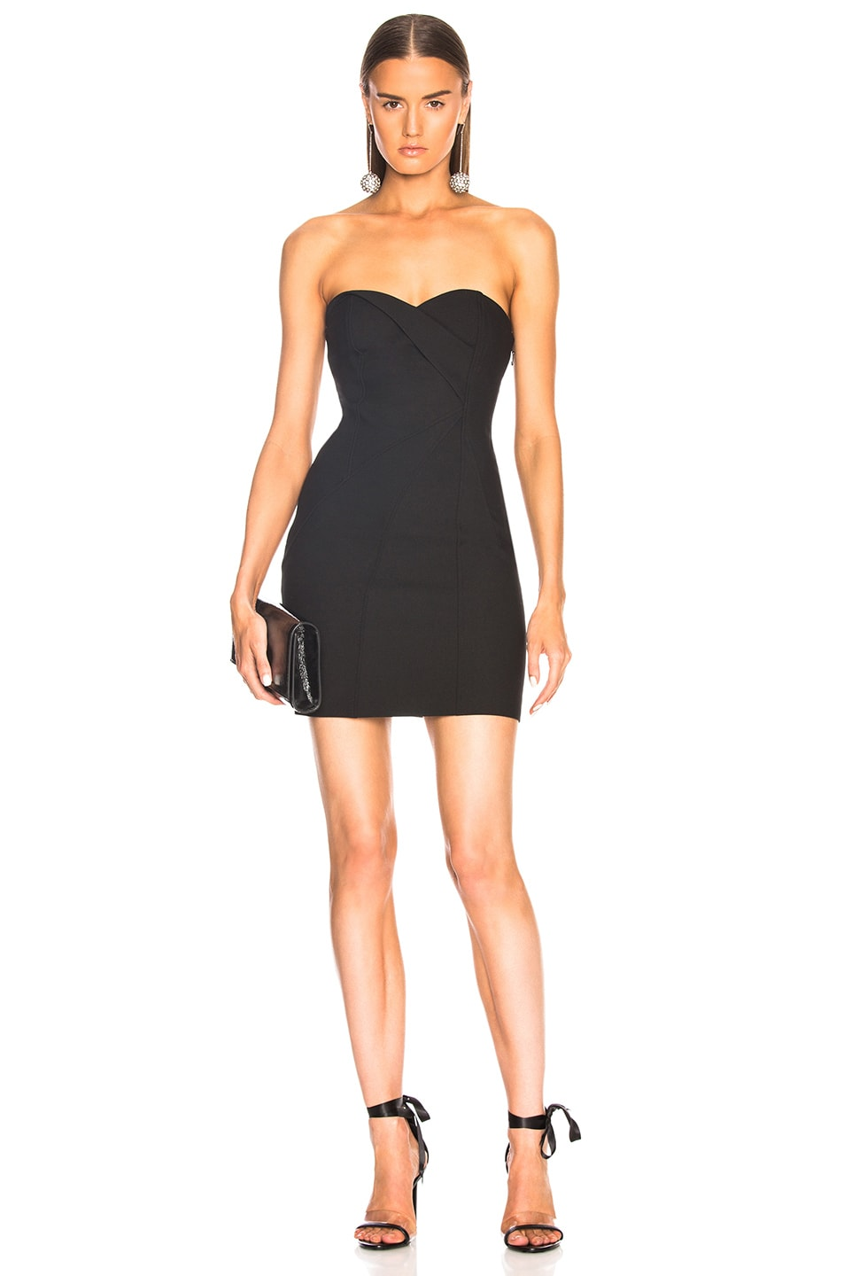Very Cheap Cheap Online Cheap The Cheapest for FWRD Tristen Dress in Black Cinq à Sept WBk0W5mA