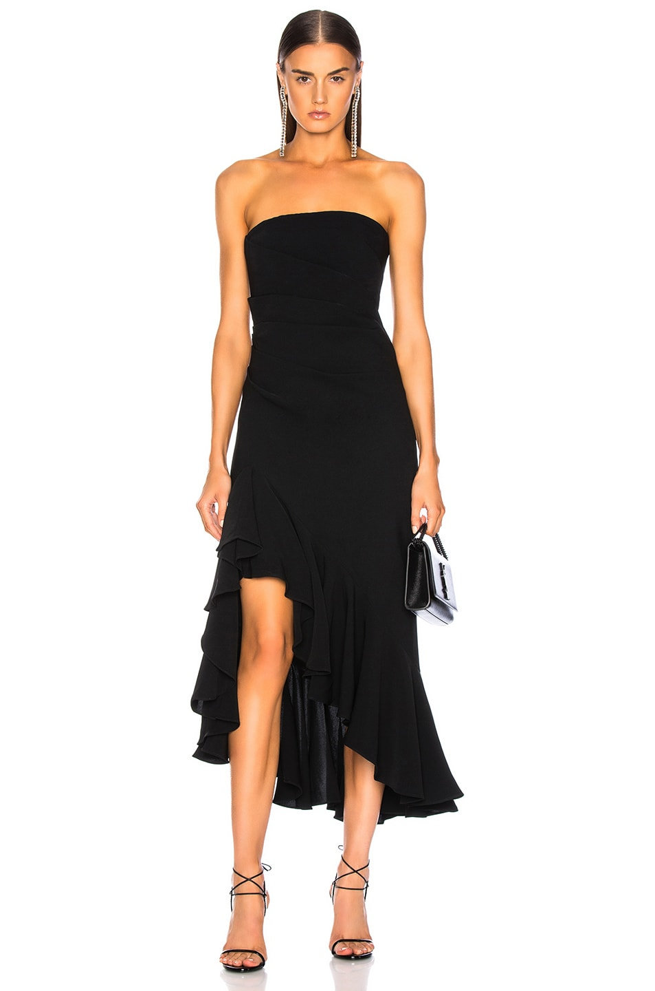 Image 1 of Cinq a Sept Gramercy Dress in Black