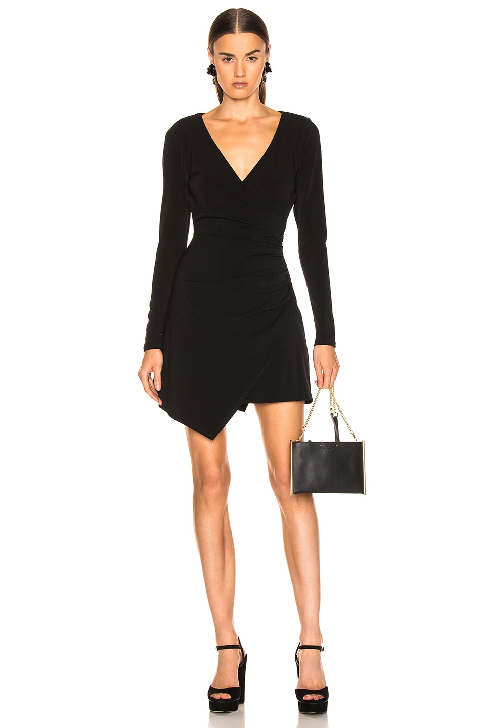 Image 1 of Cinq a Sept Coralie Dress in Black