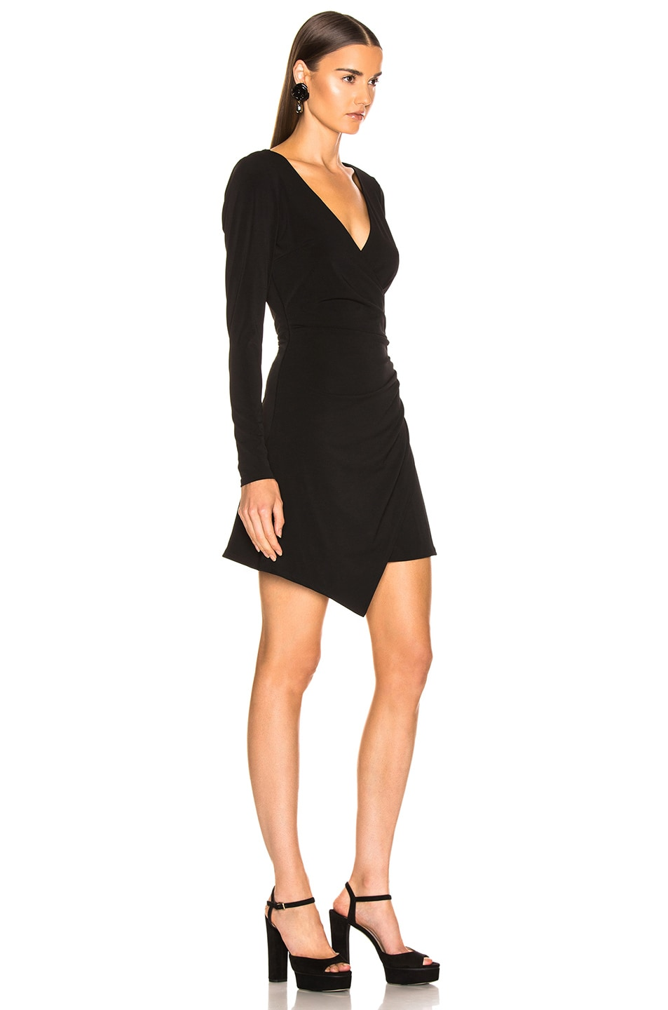 Image 2 of Cinq a Sept Coralie Dress in Black
