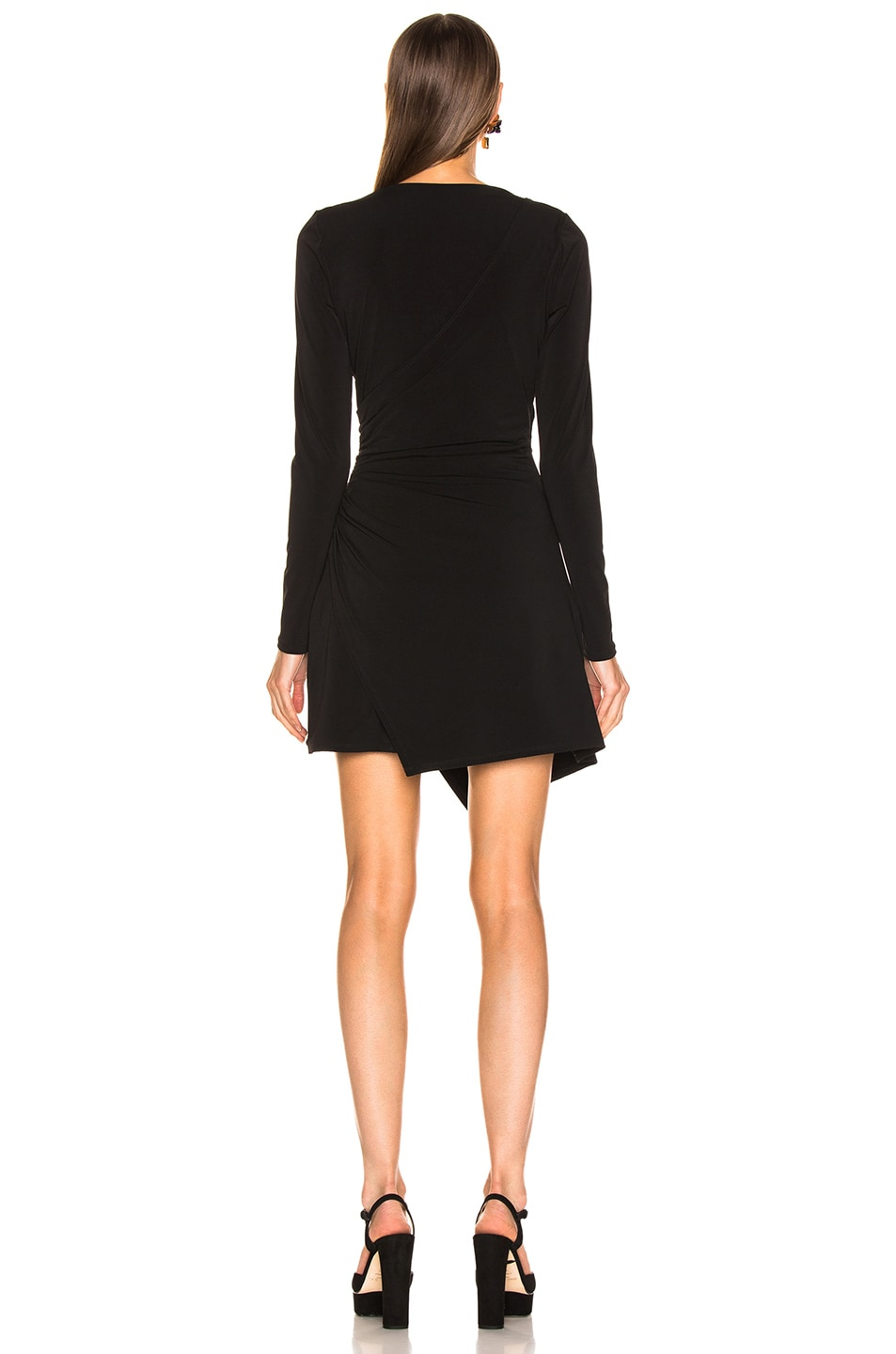 Image 4 of Cinq a Sept Coralie Dress in Black