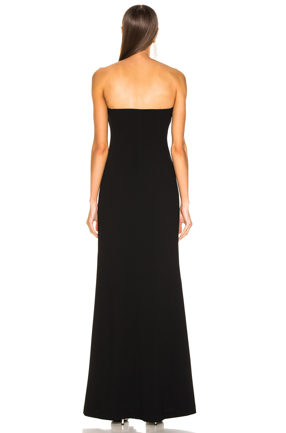 Image 3 of Cinq a Sept Eva Gown in Black & Ivory