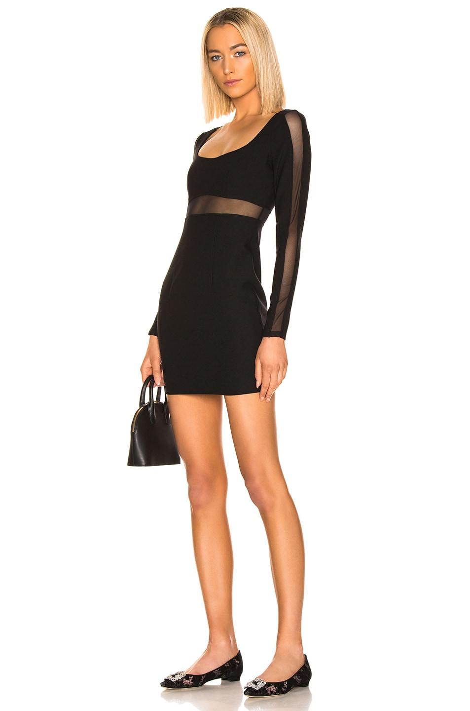 Image 1 of Cinq a Sept Celia Dress in Black