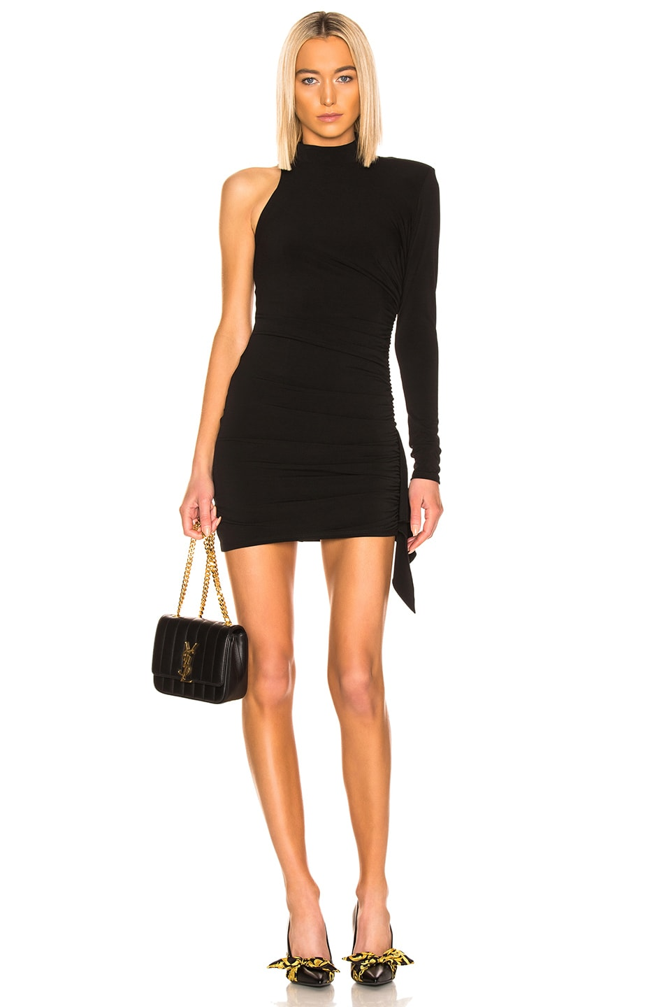 Image 1 of Cinq a Sept Augusta Dress in Black