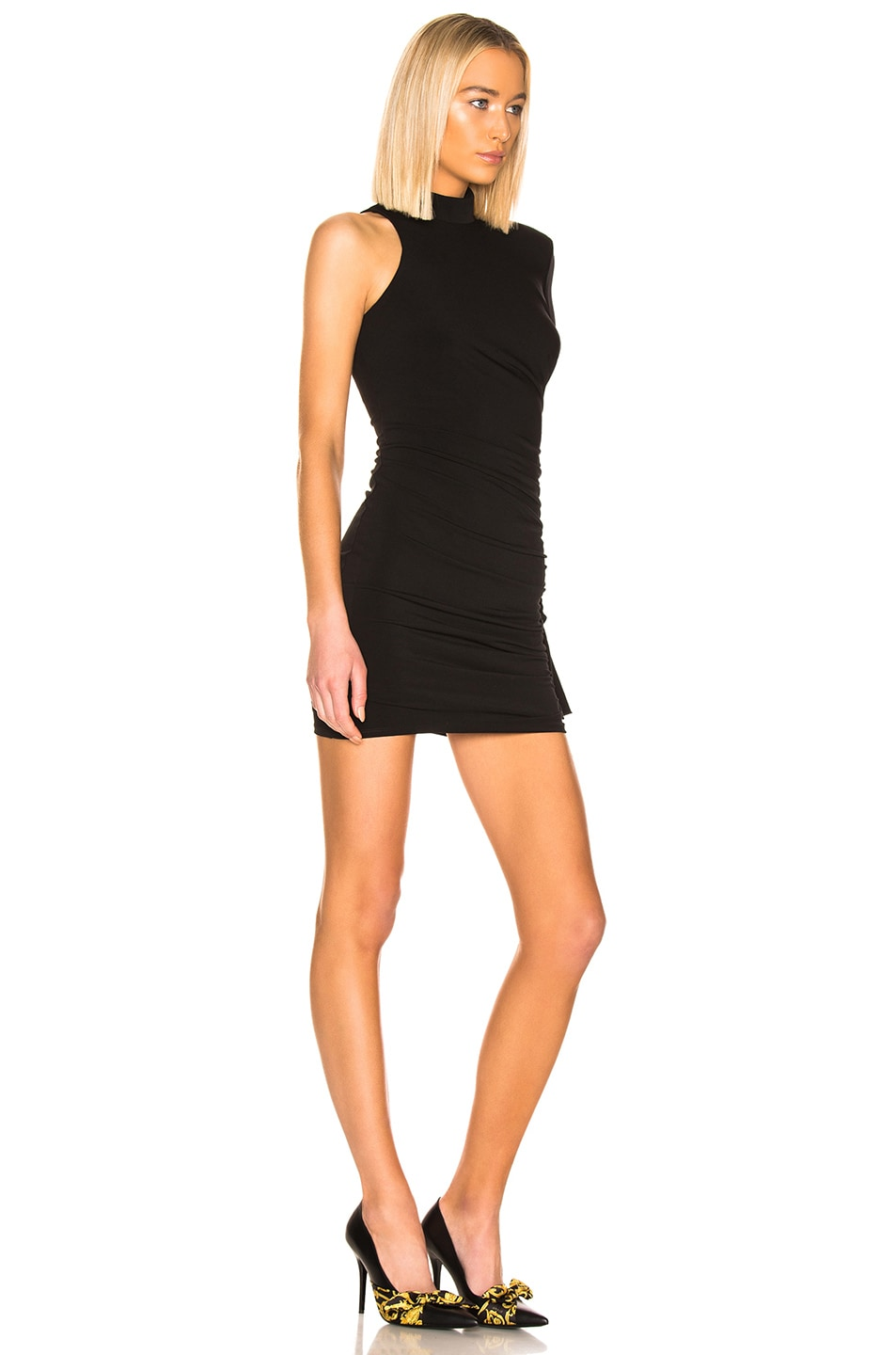 Image 2 of Cinq a Sept Augusta Dress in Black