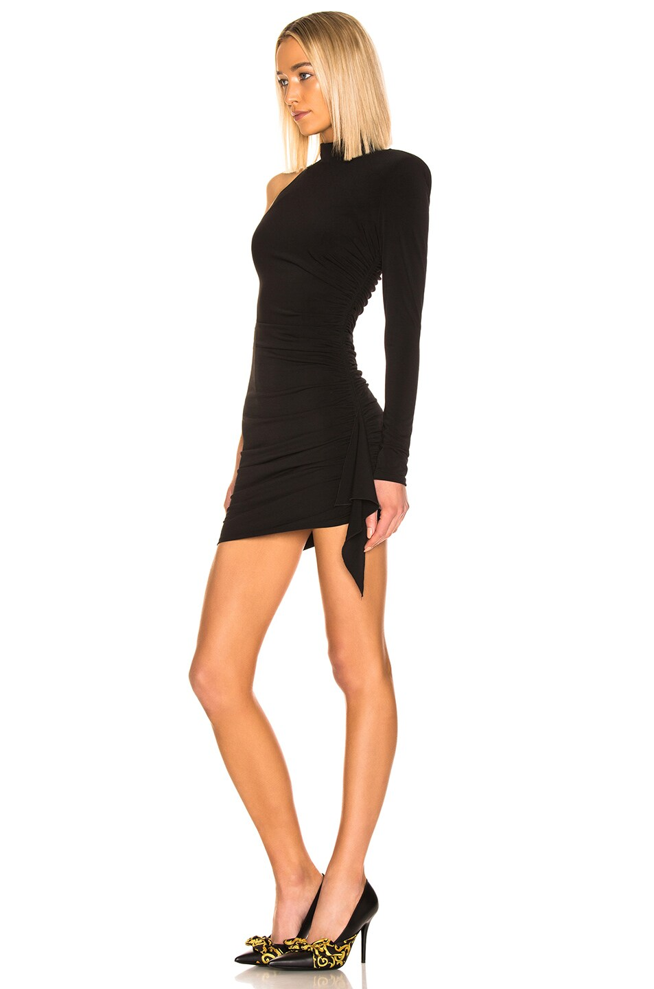 Image 3 of Cinq a Sept Augusta Dress in Black